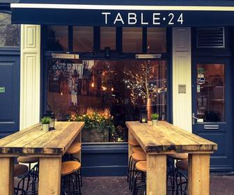 Foto van Table 24 in Haarlem