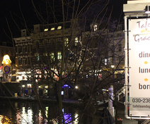 Foto van Tafel aan de Gracht in Utrecht