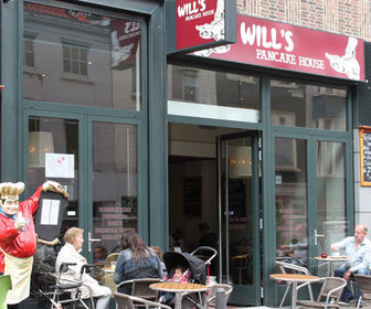 Foto van Will's Pancakehouse in Den Haag