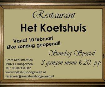 Foto van Het Koetshuis in Hoogeveen
