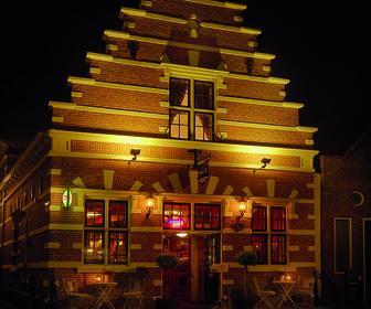 Foto van de Koperen Vis in Monnickendam