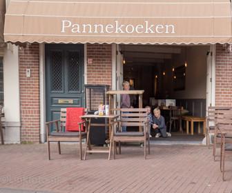 Foto van Meneertje Pannekoek in Haarlem