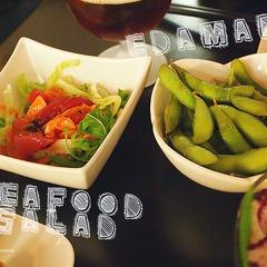 Sake sushi salad edamame thumbnail 2x