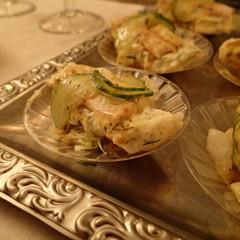 Roelette van gerookte paling met aardap salade en dillecreme thumbnail 2x