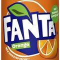 Frisdrank fanta orange blikjes 0 33l thumbnail