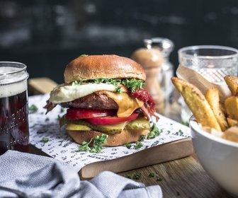 Burger en frites preview