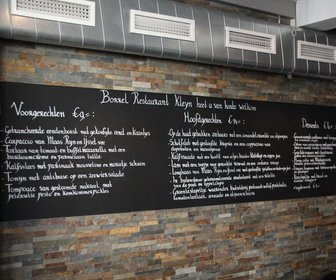 Borrel Restaurant Kleyn