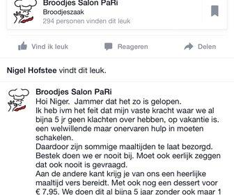 Broodjes Salon PaRi