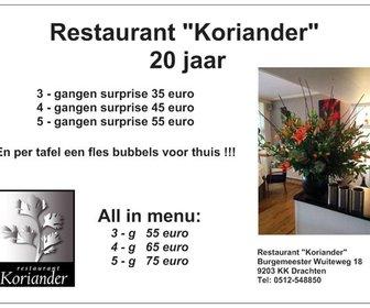 Restaurant Koriander