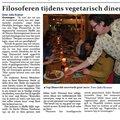 Filosoferen tijdens vegetarisch diner thumbnail