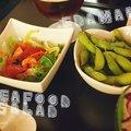 Sake sushi salad edamame thumbnail