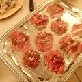 Carpaccio van entrecote met een frisse salade thumbnail
