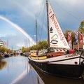 Foto van 't-Pannekoekschip in Leeuwarden