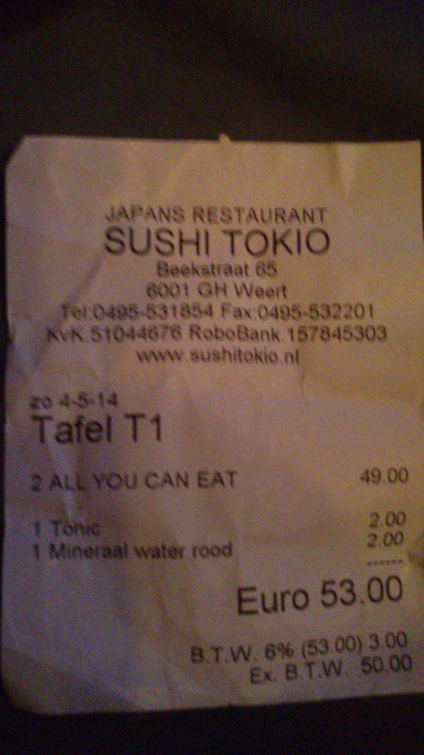 De Ronde Tafel Weert.Sushi Tokio In Weert Eet Nu