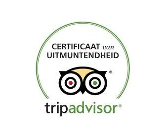 Tripadvisor uitmuntendheid preview