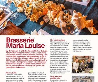 De Brasserie Maria Louise