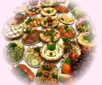 Lebanese food preview