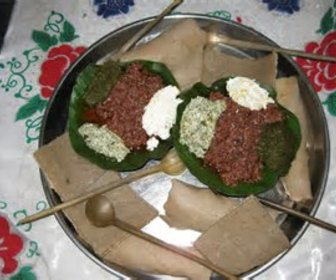 Ethiopian dishes preview