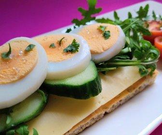 Cracker gezond met ei ontbijt preview