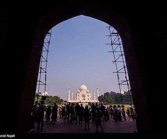 Sunrise Jami Taj Mahal