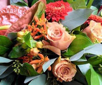Verjaardag bloemen ontbijtservice preview