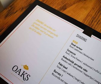 Oaks gastrobar 7 preview