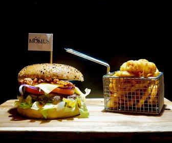 Momus hamburger  zwart preview