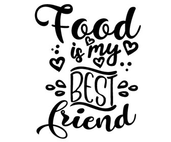 Food is my best friend preview