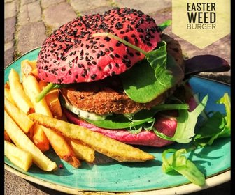 Easter weed burger preview