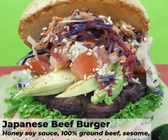 Japanese beef burger preview